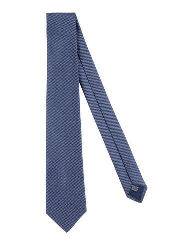 LANVIN Tie in 다크 블루