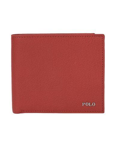 d1314f6b6c7 Polo Ralph Lauren Metal-Plaque Leather Billfold - Wallet - Men Polo ...