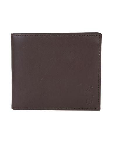 Portefeuille Polo Ralph Lauren Leather Billfold Wallet - Homme ... b6f98e62198