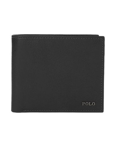 POLO RALPH LAURENMetal-Plaque Leather Billfold財布