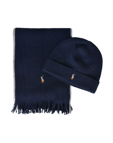 Polo Ralph Lauren Wool Polo Set - Hat - Men Polo Ralph Lauren Hats ... bac2b0f1de8