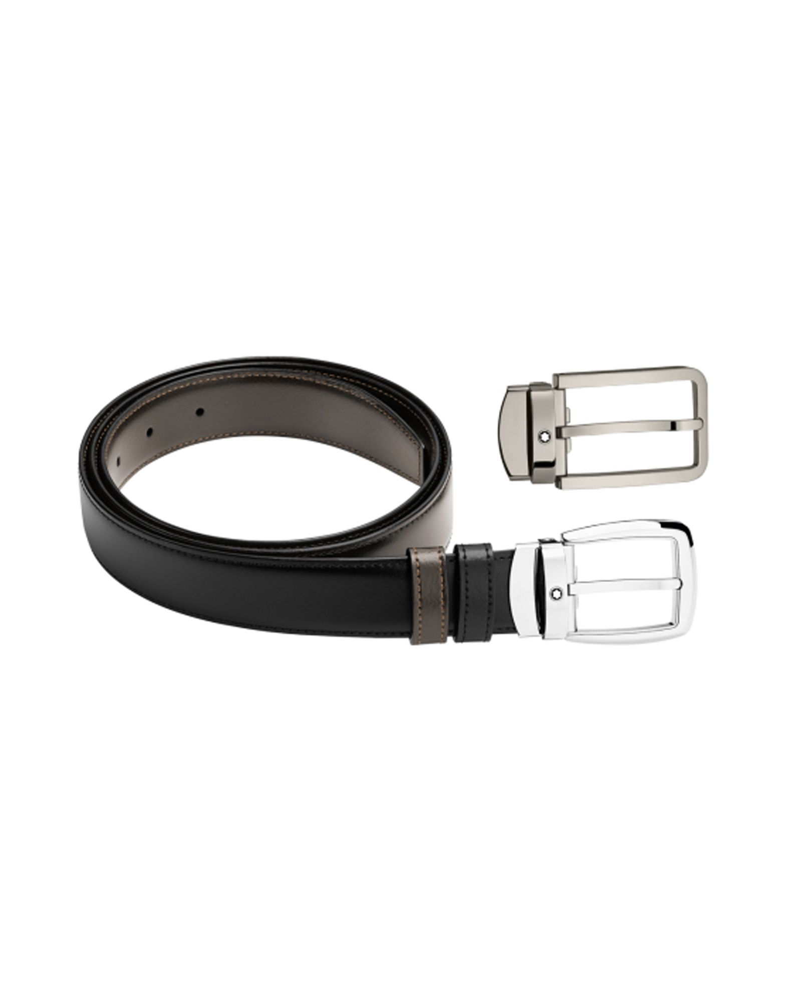 Cintura In Pelle Montblanc Belt Gift Set - Uomo - Acquista online su