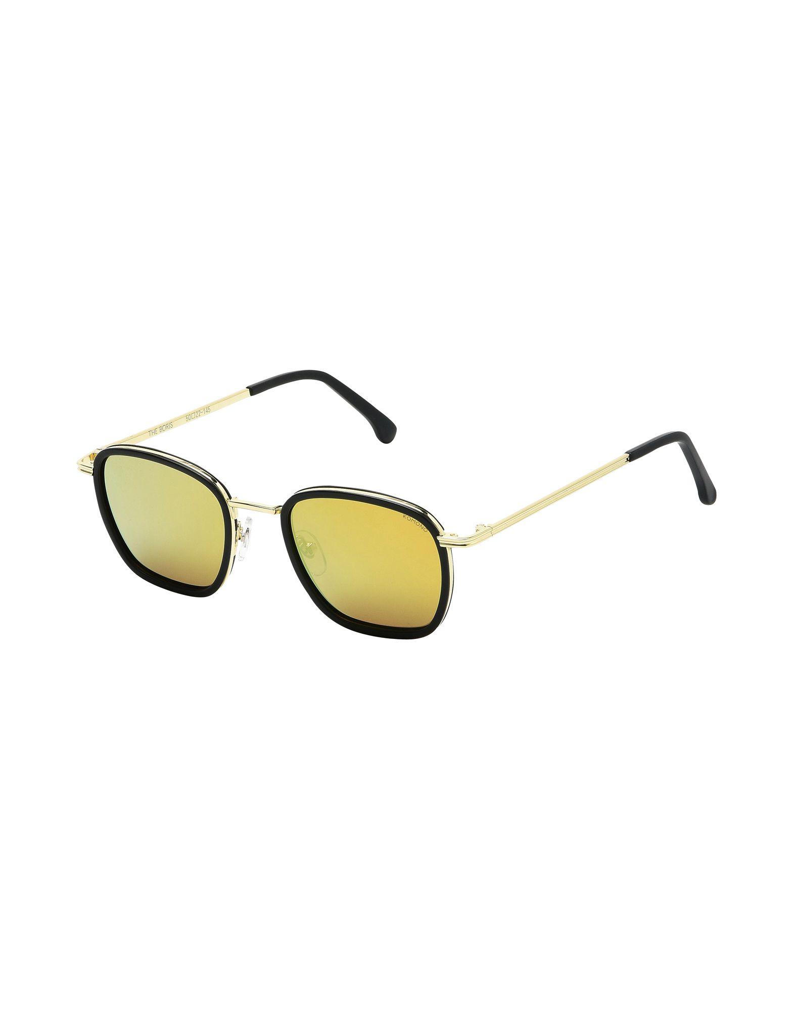 Occhiali Da Sole Komono Boris - Black Gold - Uomo - Acquista online su