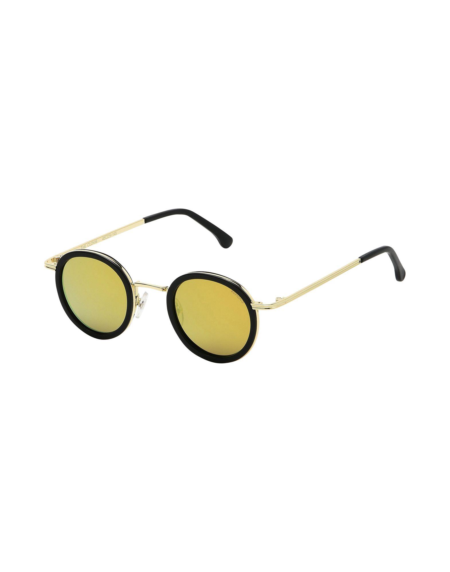 Occhiali Da Sole Komono Clovis - Black Gold - Uomo - Acquista online su