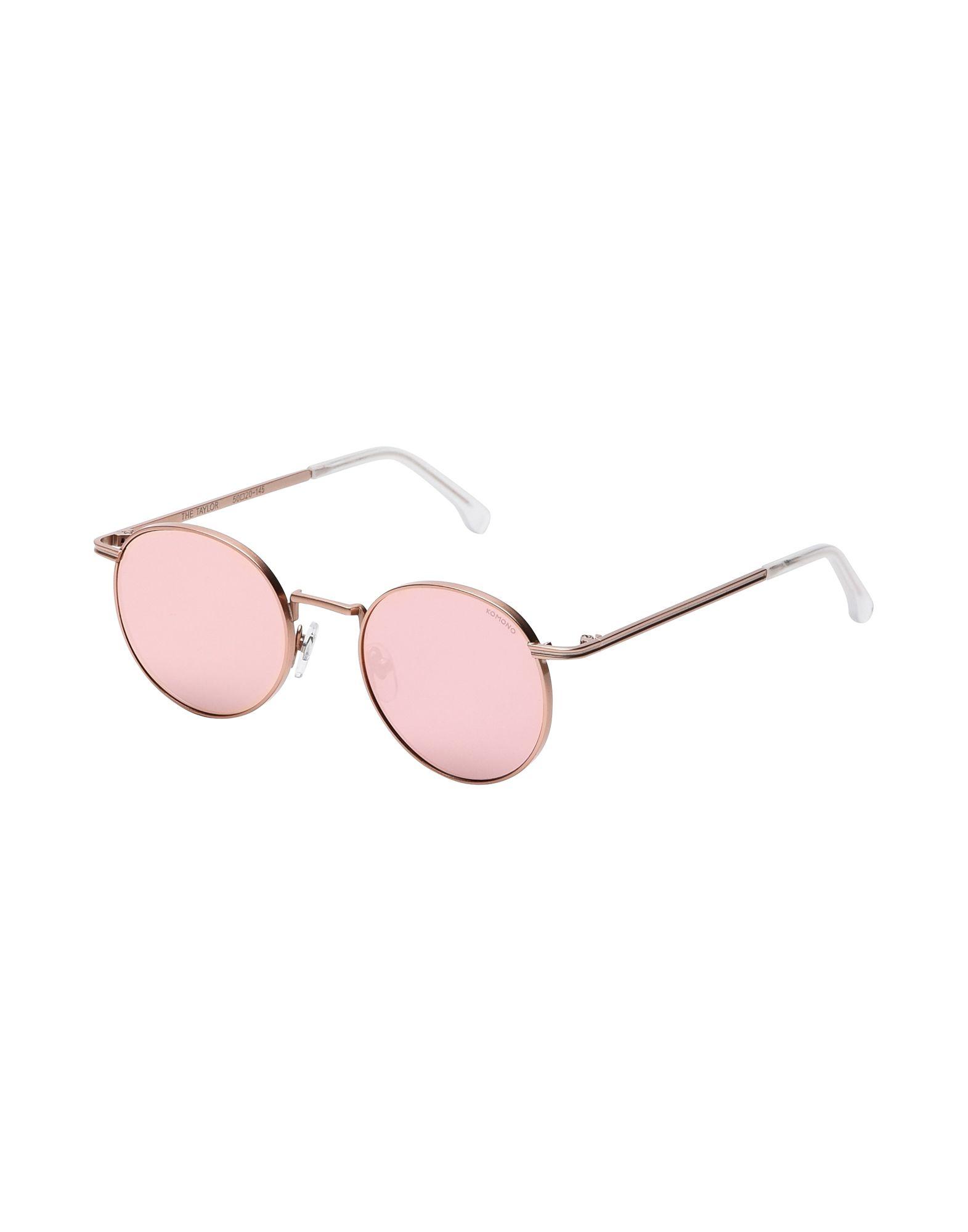 Occhiali Da Sole Komono Taylor - Rose Gold Mirror - Uomo - Acquista online su