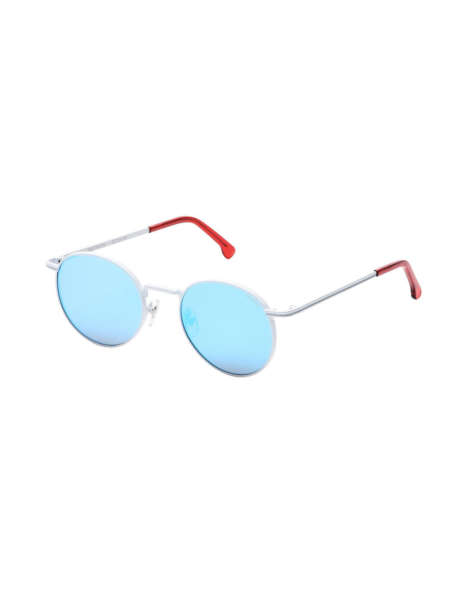 Occhiali Da Sole Komono Taylor - Racer White - Uomo - Acquista online su