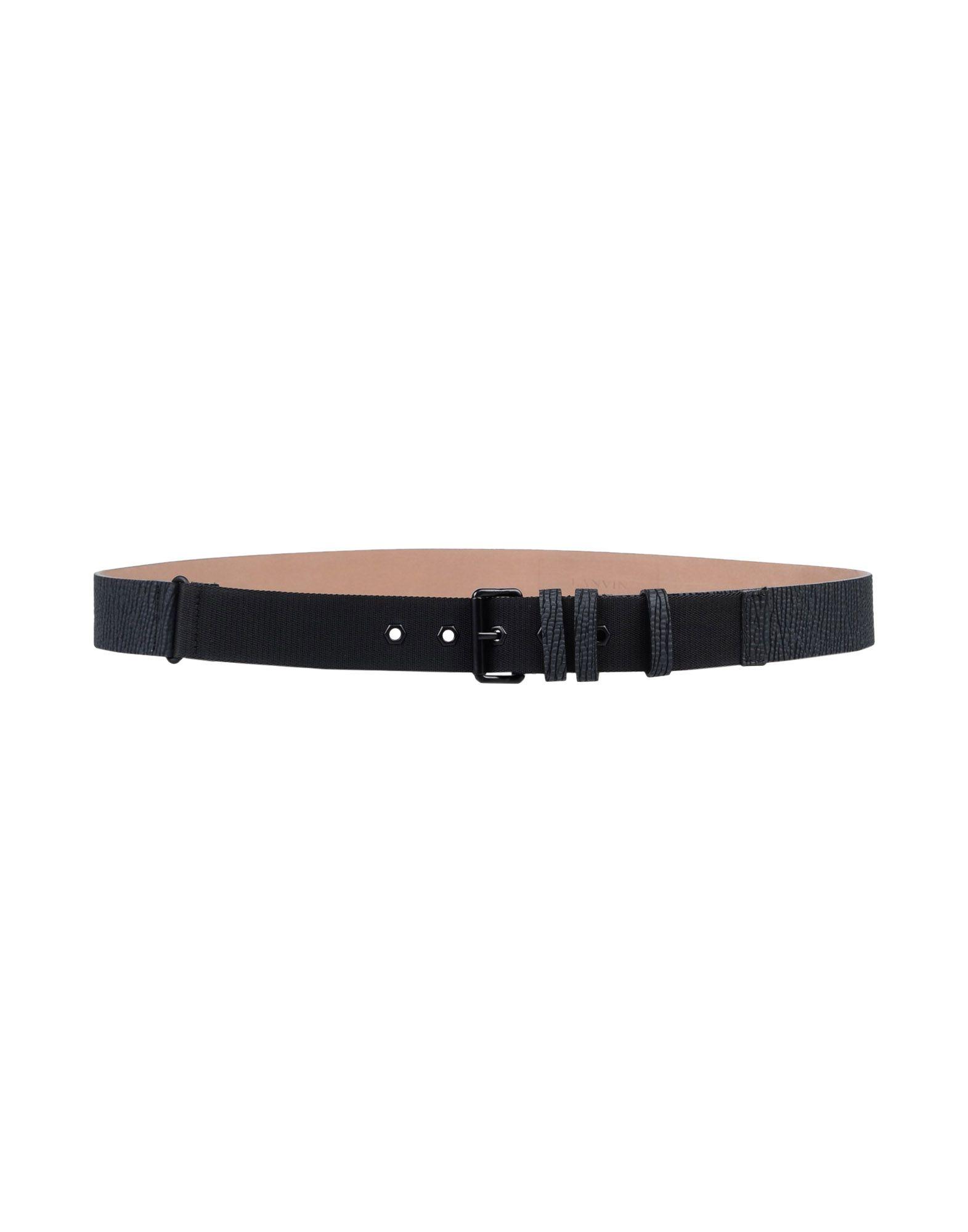 SOLD OUT         Cintura In Pelle Lanvin Uomo - Acquista online su