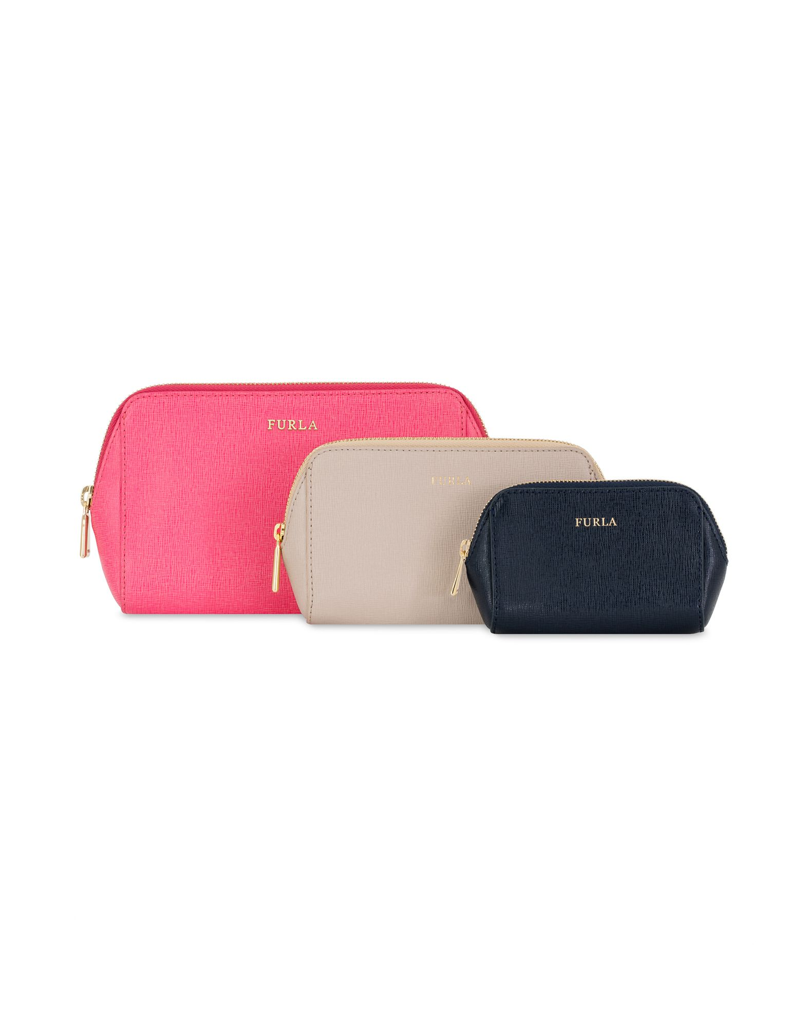 Bustina Furla Electra L Cosmetic Case Set - Donna - Acquista online su