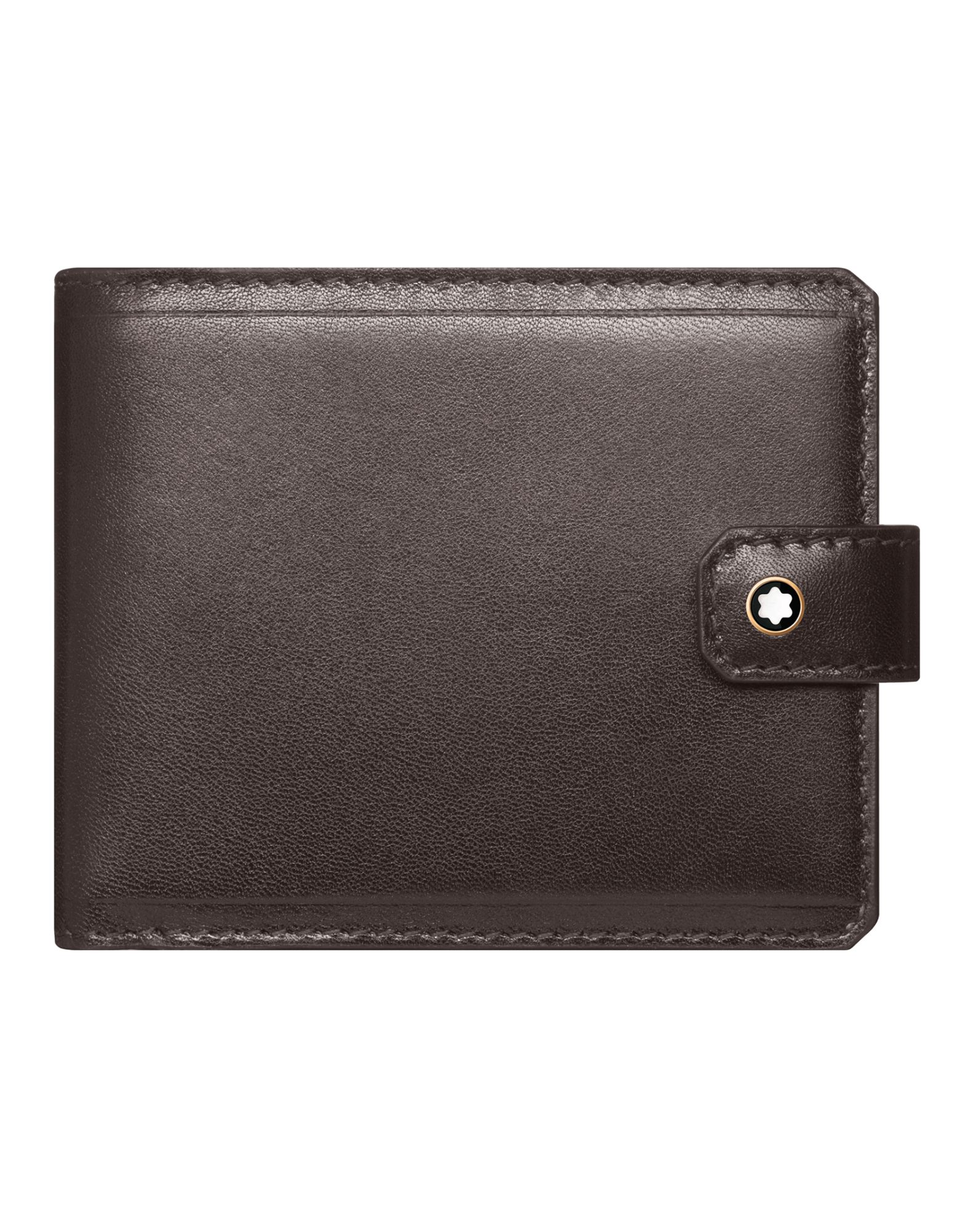 Portafoglio Montblanc 1926 Mb Heritage Wallet 6Cc Dark Brown - Uomo - Acquista online su