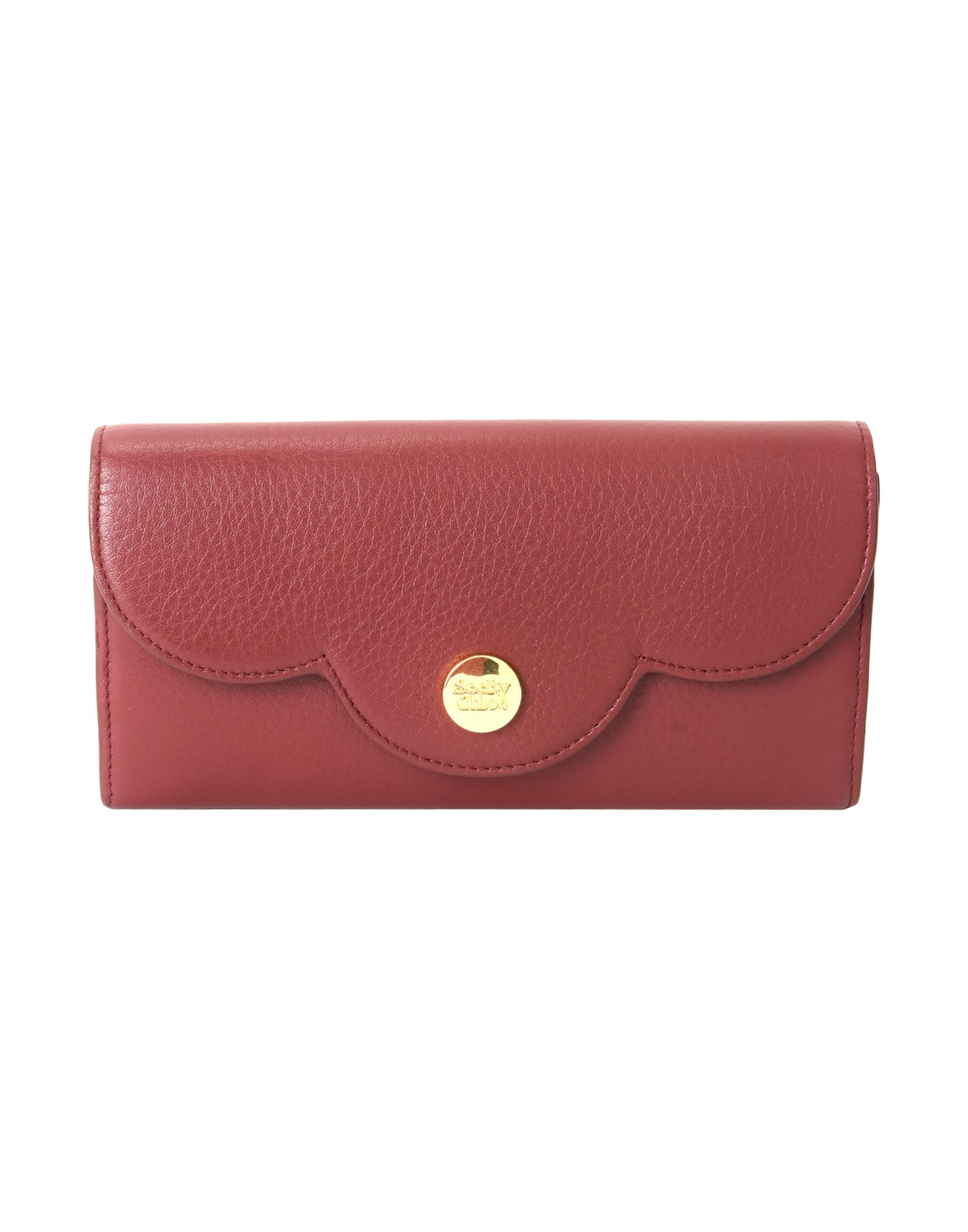 Billetera See By Chloé Polina Flat Wallet With Flap - Mujer ...