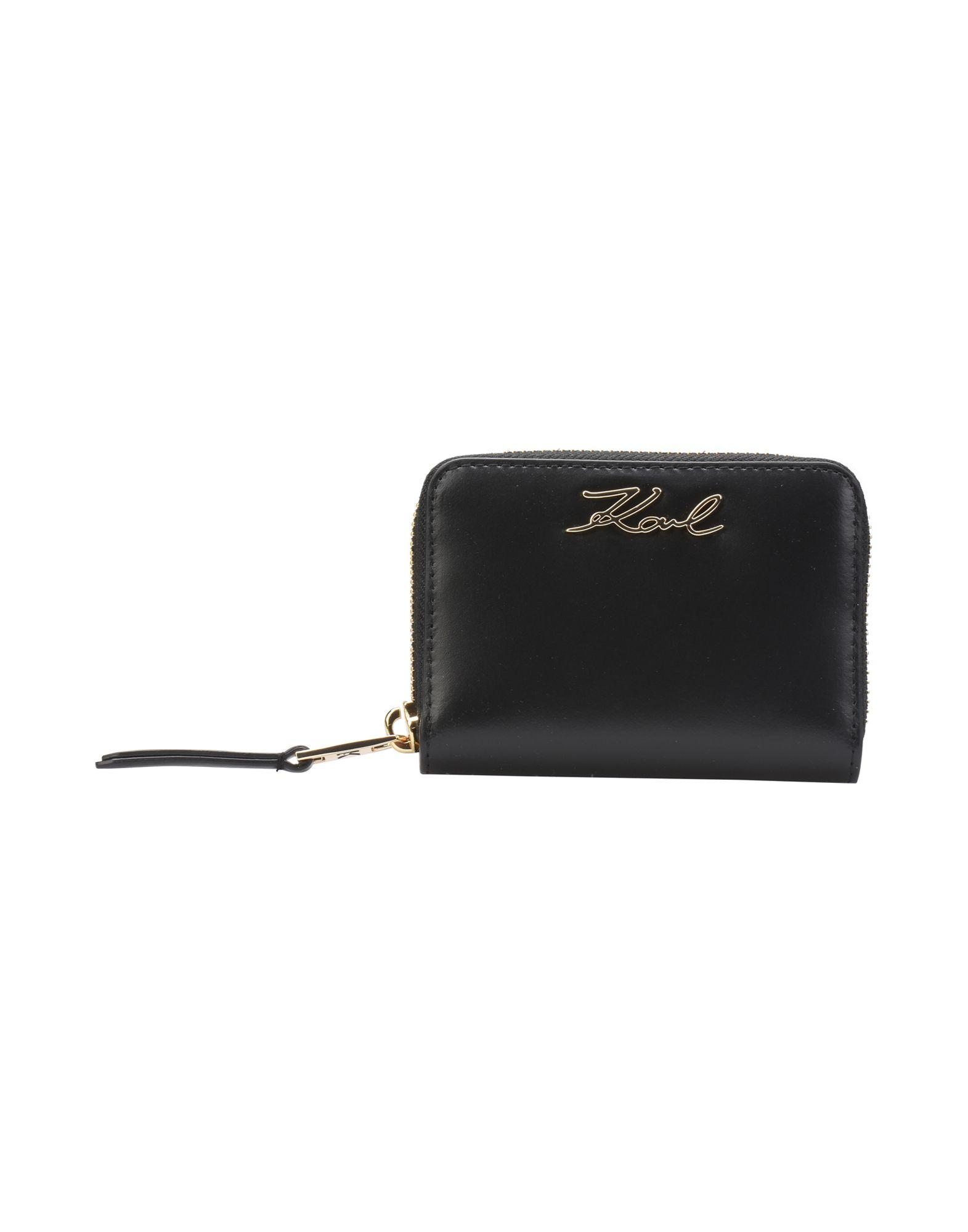 Portafoglio Karl Lagerfeld K/Signature Sm Zip Wallet - Donna - Acquista online su