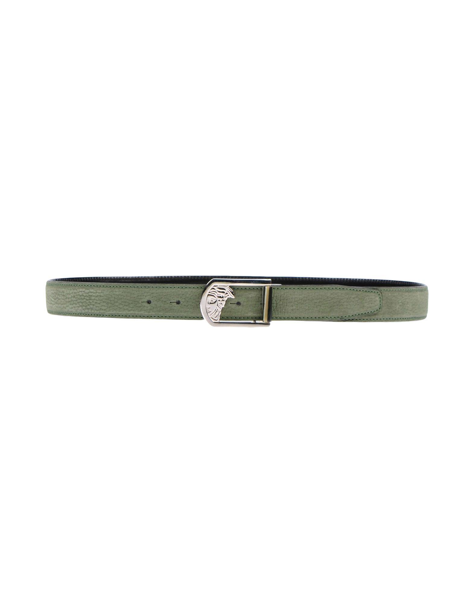 Cintura In Pelle Versace Collection Uomo - Acquista online su
