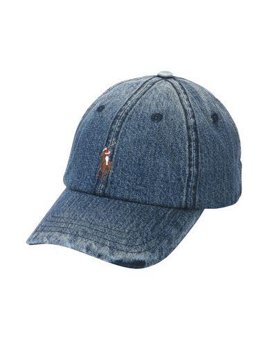 Polo Ralph Lauren Denim Cap - Hat - Men Polo Ralph Lauren Hats ... 31274139fcd