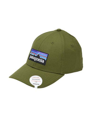 Patagonia P-6 Logo Stretch Fit Hat - Hat - Men Patagonia Hats online ... 1d2fe004b01