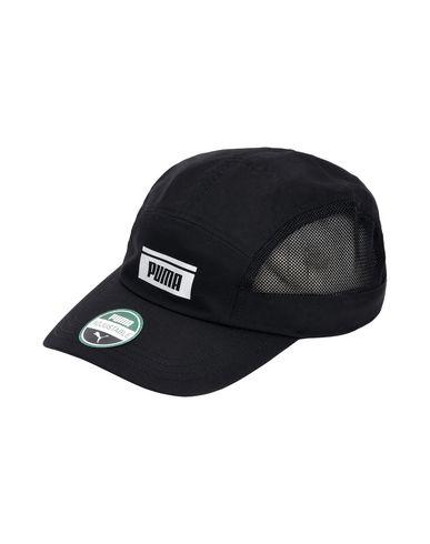 black puma hat