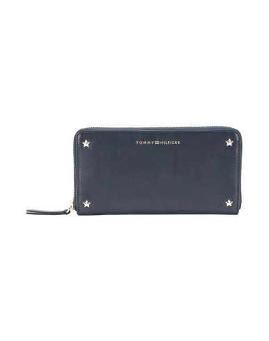 Tommy Hilfiger Star Studded Leather Lrg Za Wallet Wallet Women
