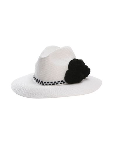 7a335fb2c59 Helene Berman London Fedora With Pom   Knitted Braid - Hat - Women ...