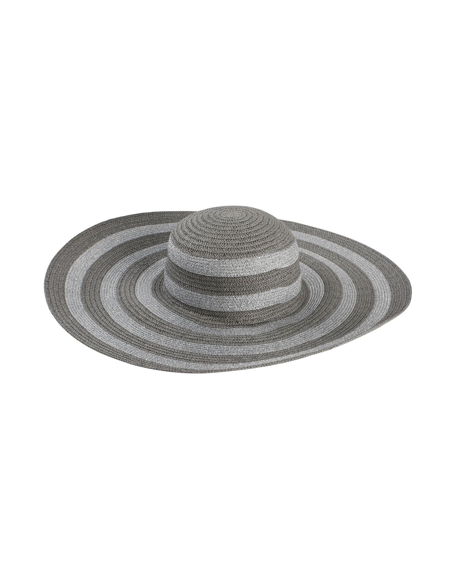 Cappello Helene Berman  London Metallic Stripe Floppy Hat - Donna - Acquista online su