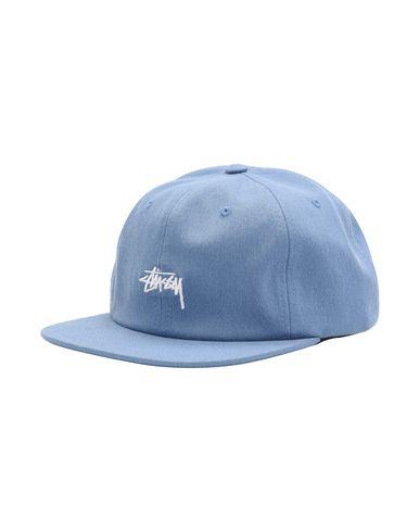 9ae619943db7f Stussy Melange Denim Strapback - Hat - Men Stussy Hats online on ...