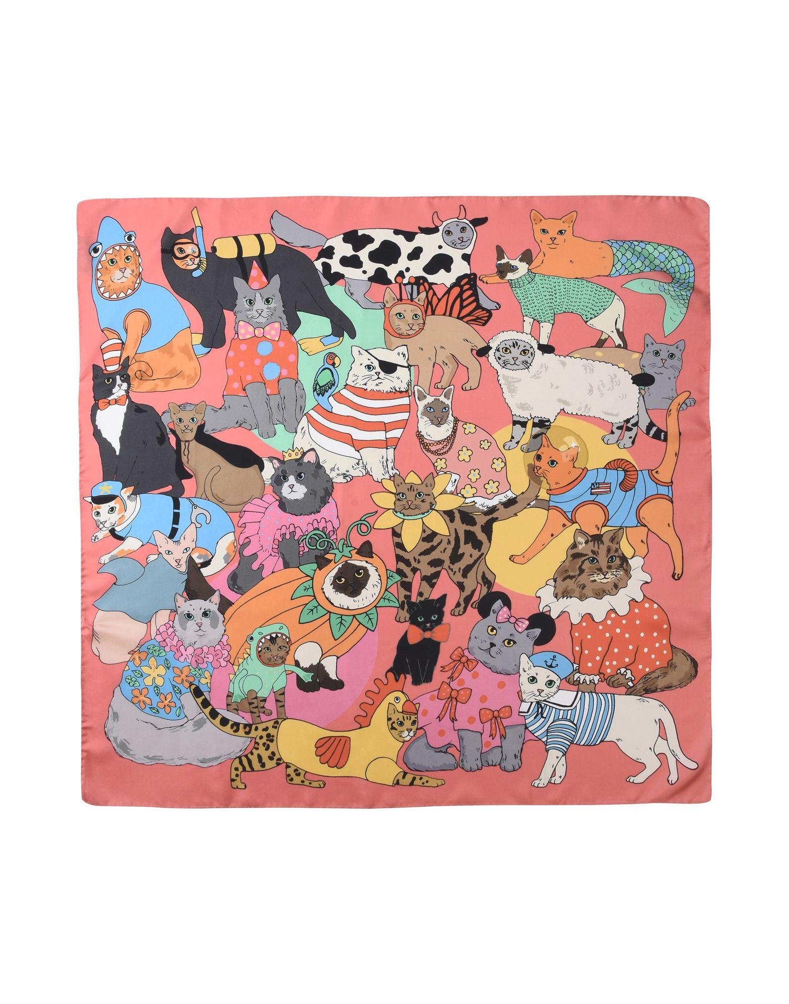 Foulard Karen Mabon Fancy Dress Cats - Donna - Acquista online su YOOX -  46576348GS