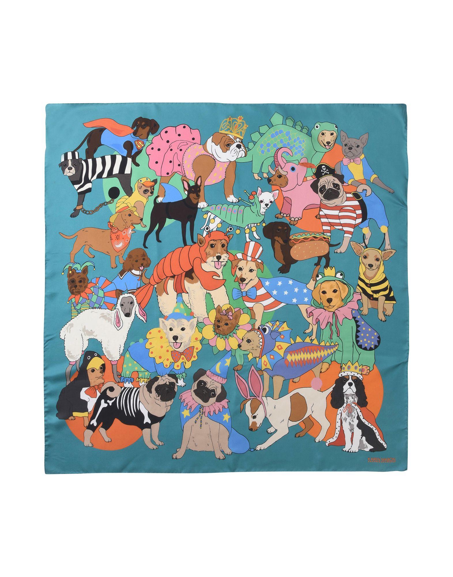 Foulard Karen Mabon Fancy Dress Dogs - Donna - Acquista online su