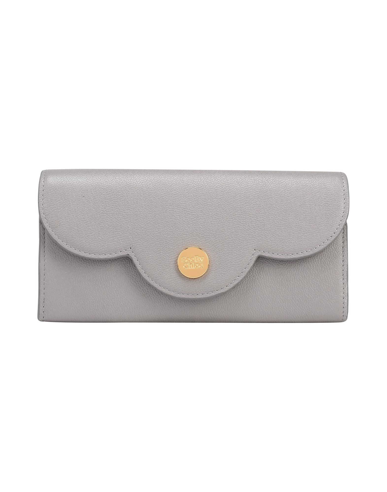 Portafoglio See By Chloé Polina Flat Wallet With Flap - Donna - Acquista online su