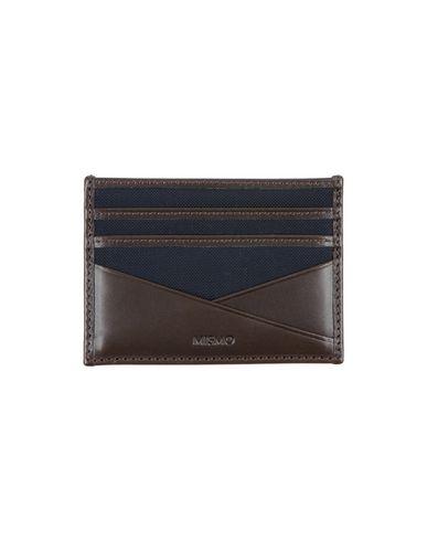 MISMO Wallets in Dark Brown