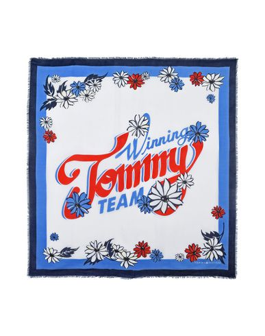 Tommy Hilfiger Winning Tommy Team Square - Square Scarf - Women ... befcd8d5016