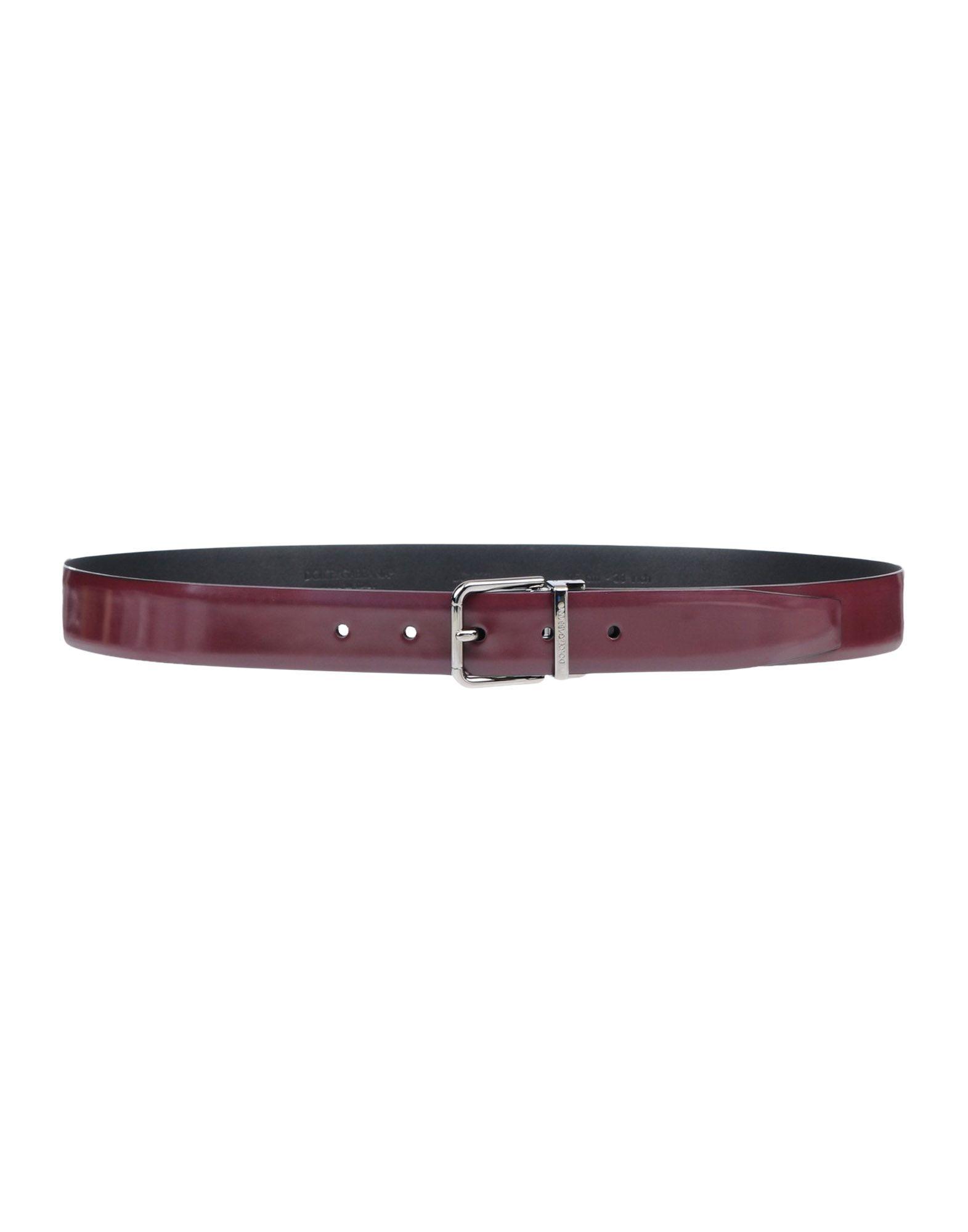 Cintura In Pelle Dolce & Gabbana Donna - Acquista online su