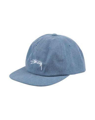 d486e24fef1 Stussy Washed Oxford Canvas Snapback - Hat - Men Stussy Hats online ...