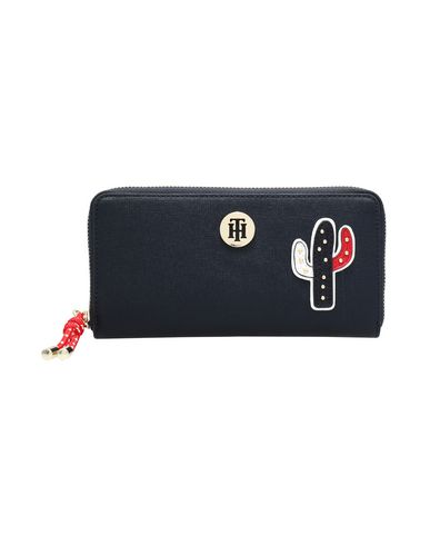 Tommy Hilfiger Th Buckle Lrg Za Wal Wallet Women Tommy Hilfiger