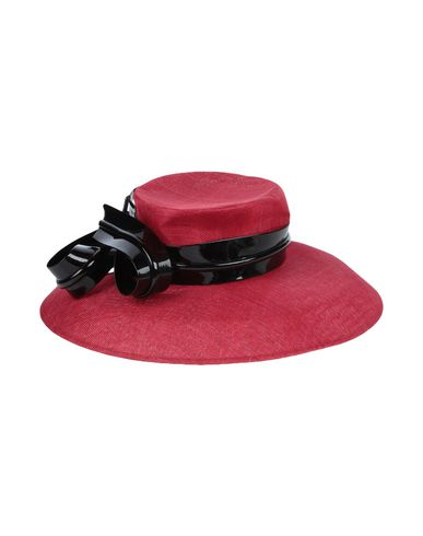 PHILIP TREACY Hat in Red