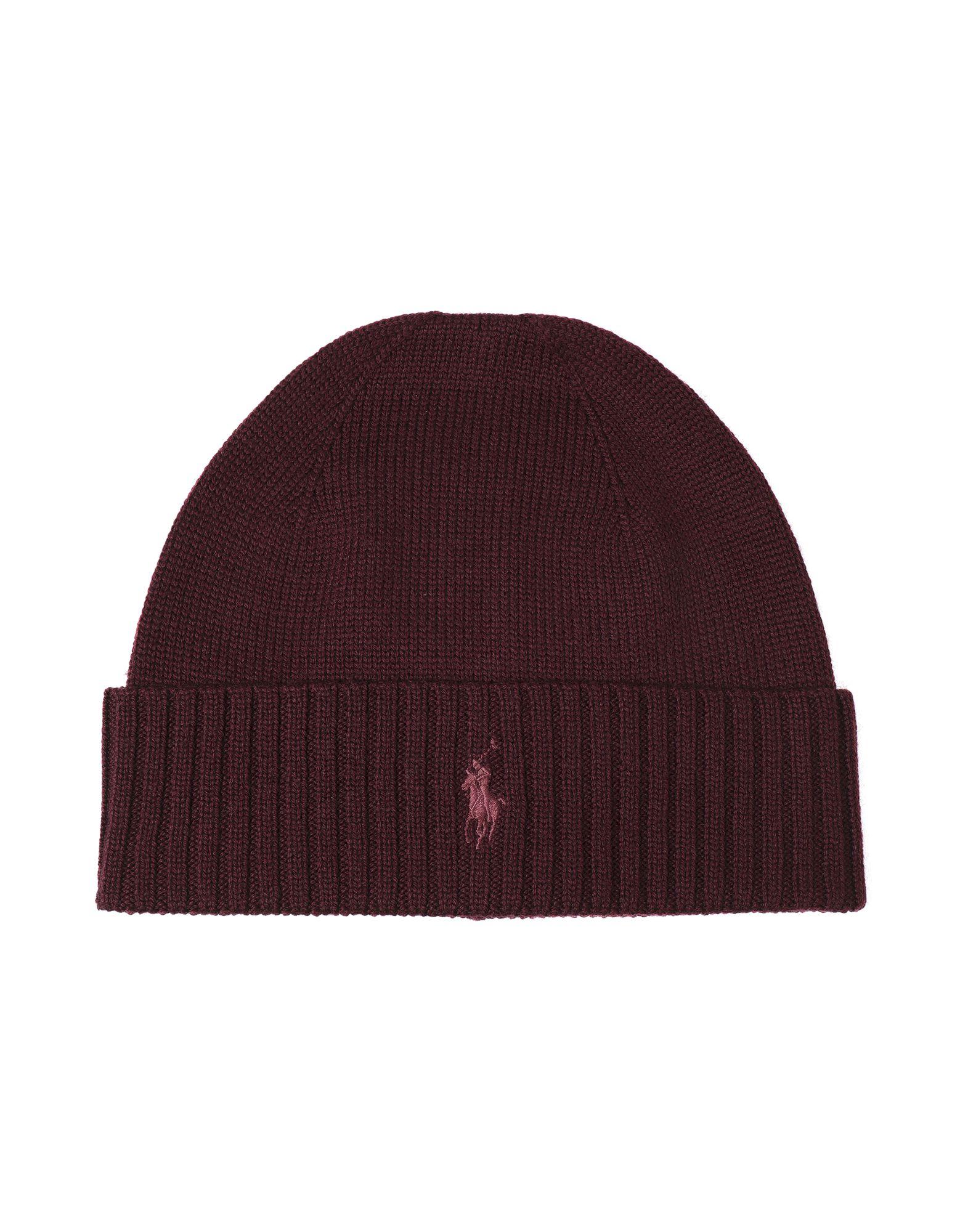 496de7f634c1c Polo Ralph Lauren Merino Wool-Hat - Hat - Men Polo Ralph Lauren Hats ...