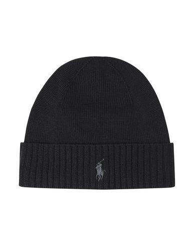 77b0cb3ec8c Polo Ralph Lauren Merino Wool-Hat - Hat - Men Polo Ralph Lauren Hats ...