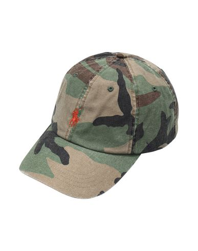 2faadcc5795 Polo Ralph Lauren Camo Cotton Chino Cap - Hat - Men Polo Ralph ...
