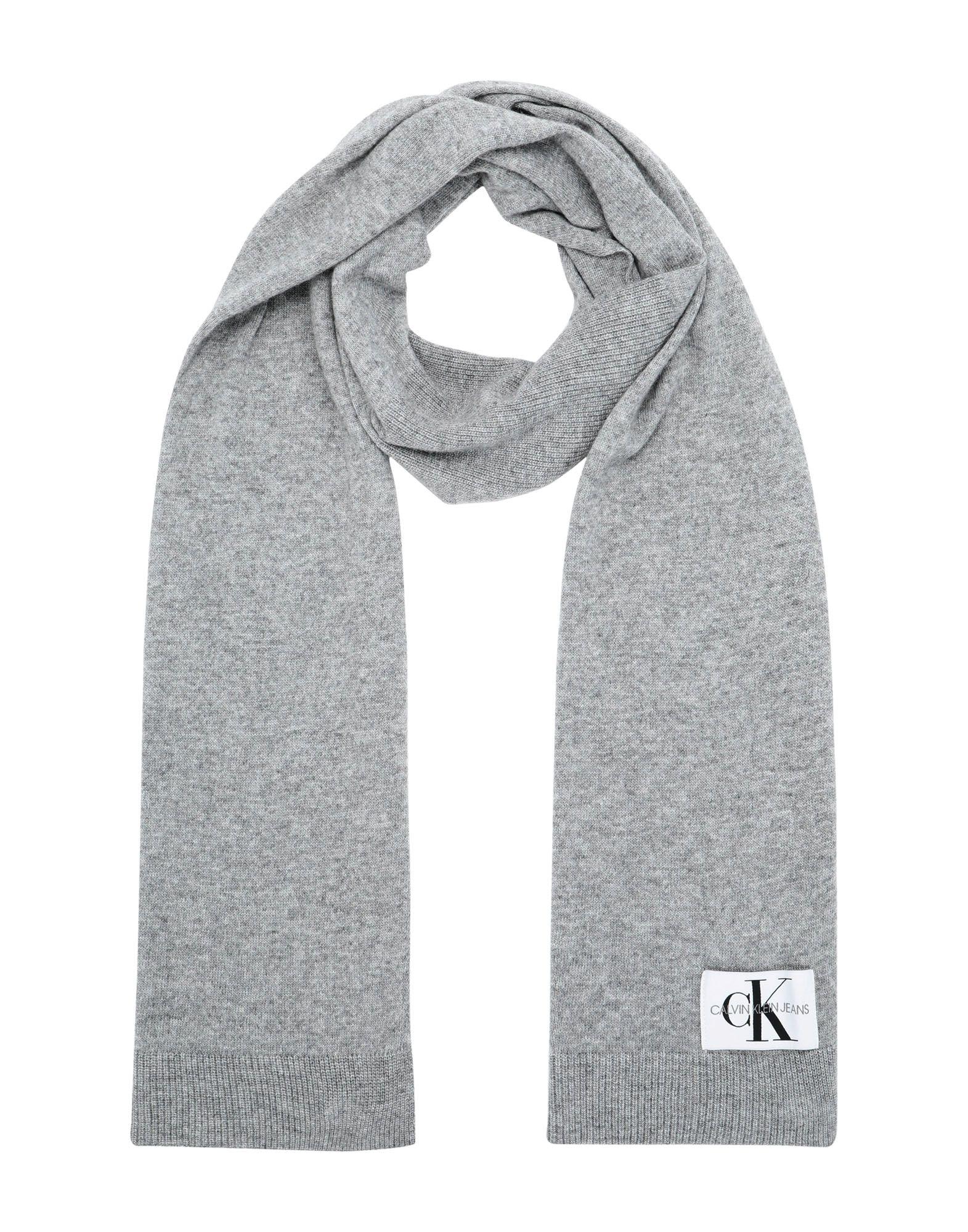 e5e3287bc12 Calvin klein jeans basic woman knitte scarves women calvin klein jeans  scarves online on yoox hong
