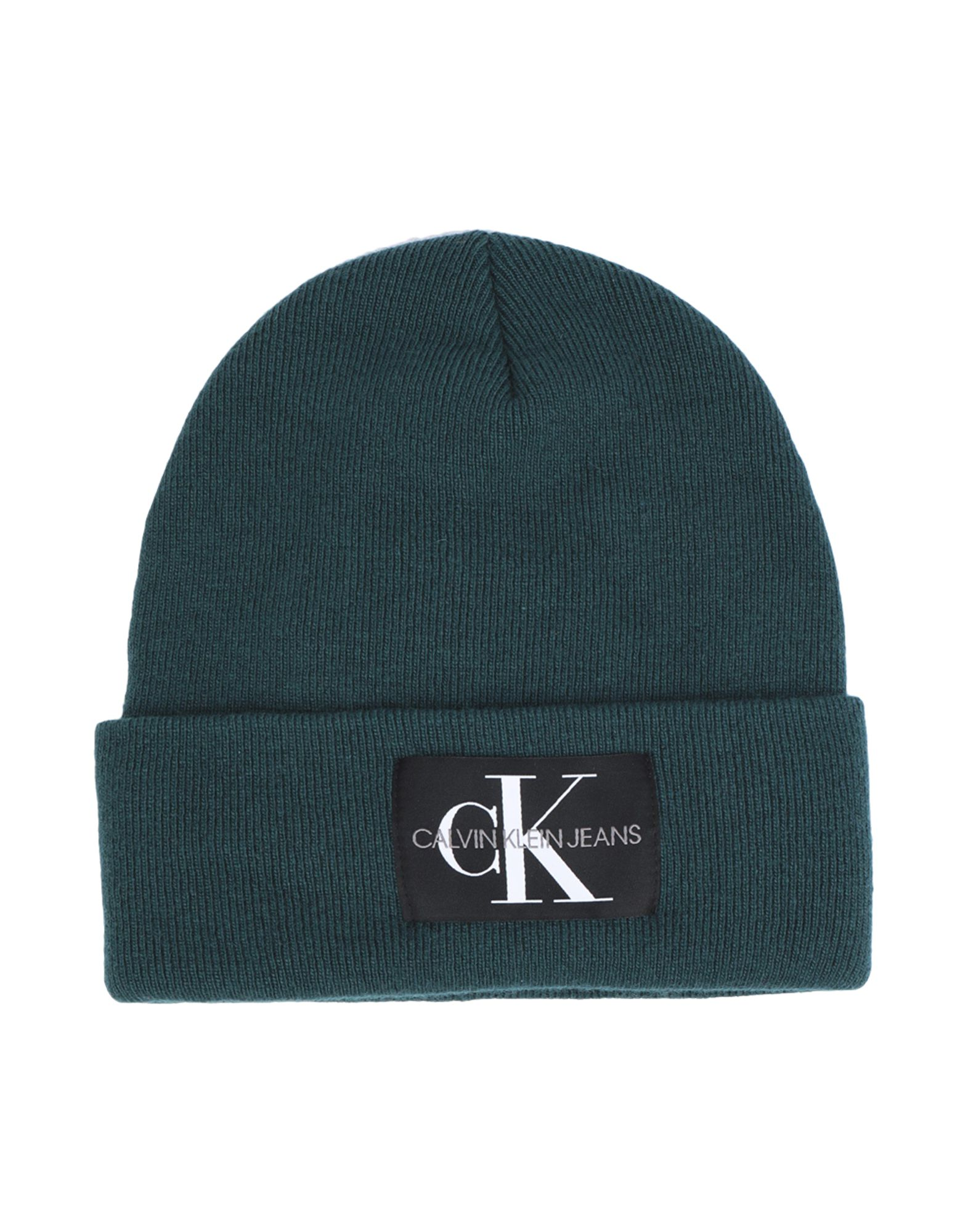 Calvin Klein Jeans J Basic Men Knitted - Hat - Men Calvin Klein Jeans Hats  online on YOOX Portugal - 46604851 3b12772a86f