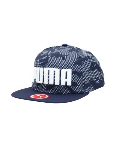 Cappello Puma Puma Flatbrim Cap Peacoat-Aop - Uomo - Acquista online ... 311b30a3f9a9