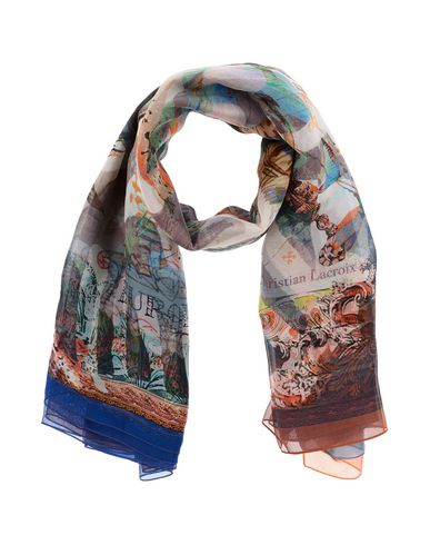CHRISTIAN LACROIX Scarves in White
