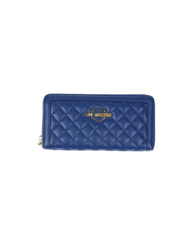 Love Moschino Designer Blue Wallet Purse