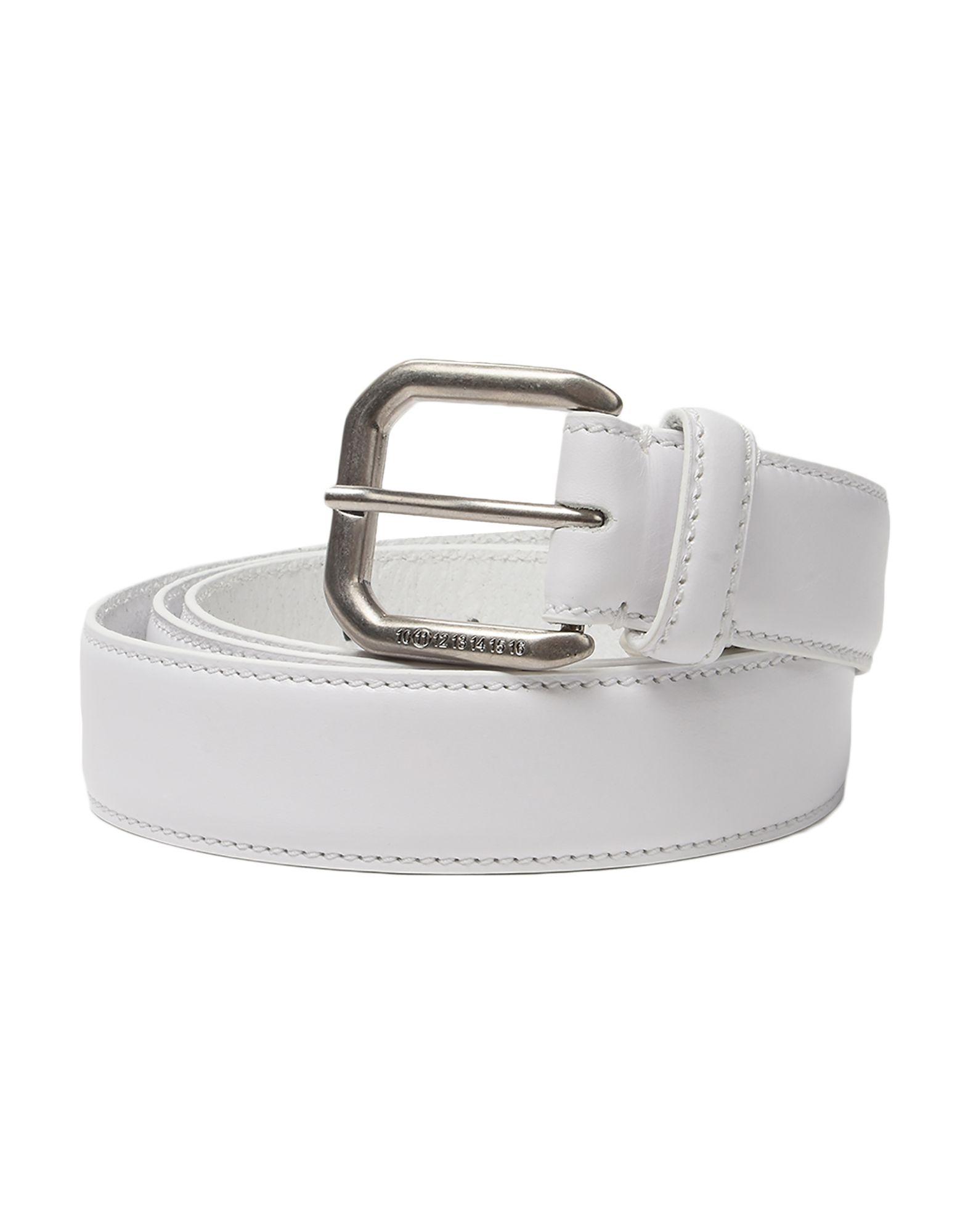 4681005dec5 MAISON MARGIELA Regular belt - Belts   YOOX.COM