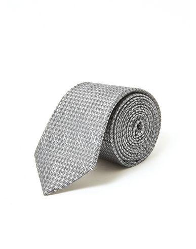 fa4607160945 Topman Grey Silk Tie - Tie - Men Topman Ties online on YOOX United ...