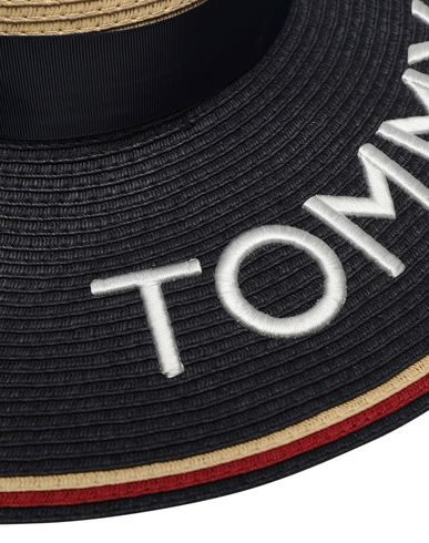 fb56dc3cfef88b Tommy Hilfiger Straw Fedora Hat - Hat - Women Tommy Hilfiger Hats ...