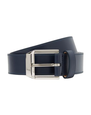 Givenchy Leather Belt In Blue