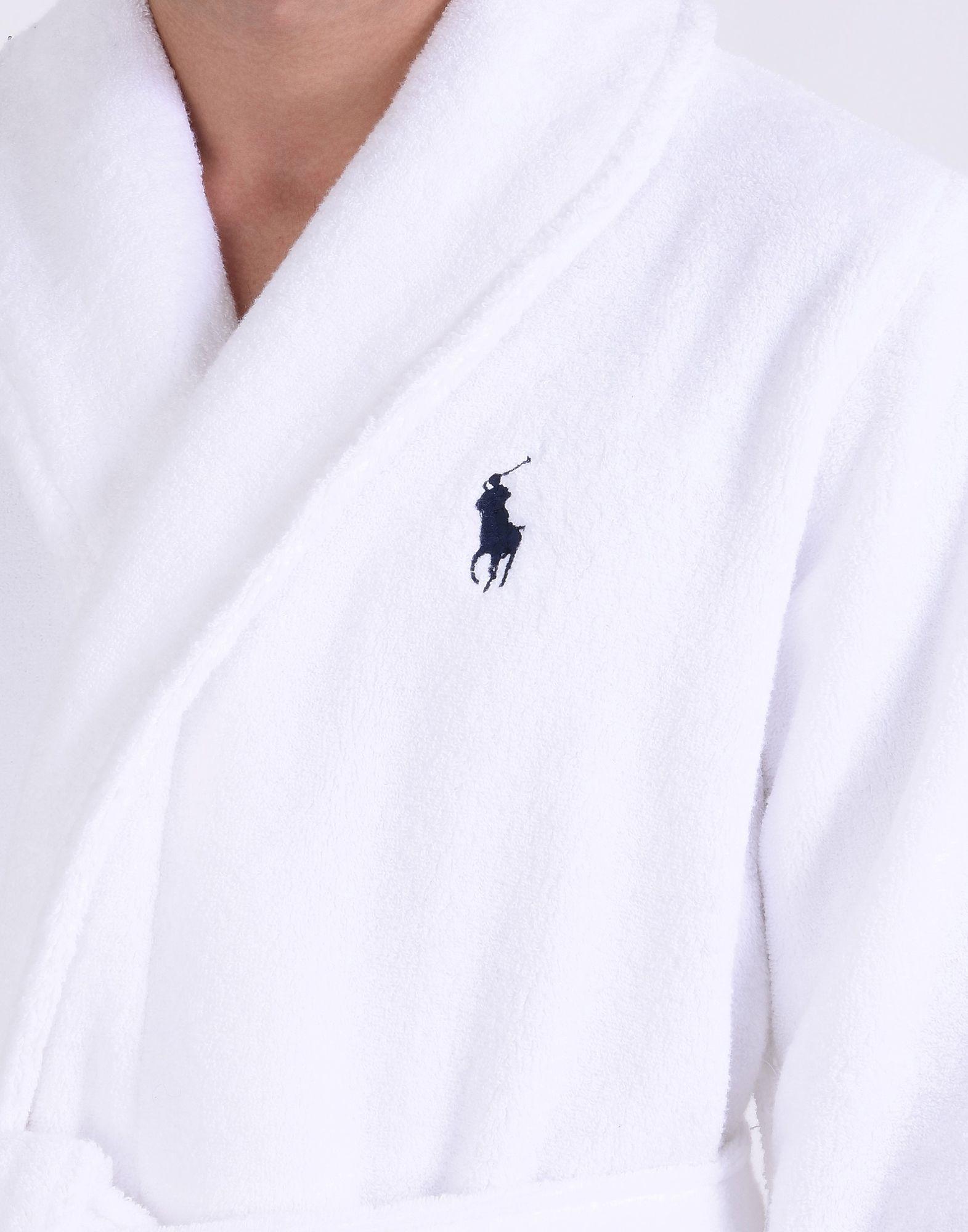 Teli Mare E Accappatoi Polo Polo Polo Ralph Lauren Cotton Terry Robe - Uomo - 47195559LM 06001f