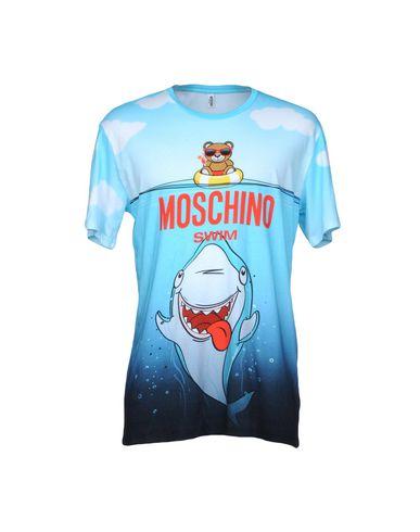 Moschino Camiseta nettbutikk forsyning engros-pris billig pris handle billig pris qiZi3lO3