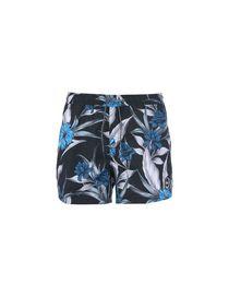 SANGQU Mens Quick Dry Printed Short Swim Trunks with Mesh Lining Surf Beachwear