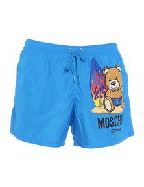 e8108b9da4 Moschino Men - Moschino Swim Shorts - YOOX United Kingdom