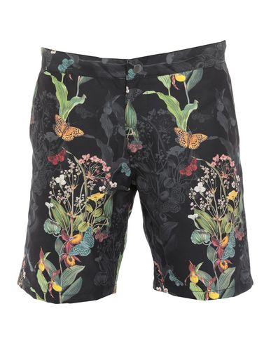 RIZ BOARDSHORTS Swim Shorts in Black