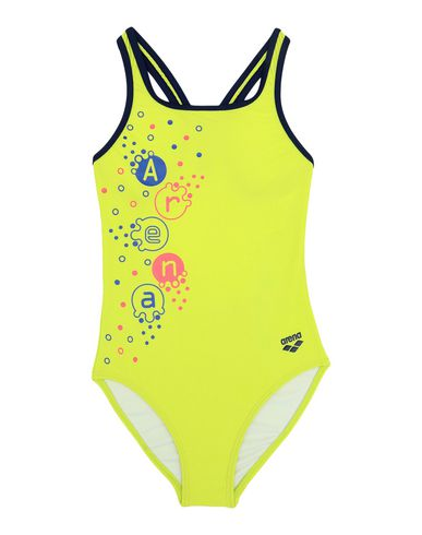 ARENA One-Piece Swimsuits in Acid Green
